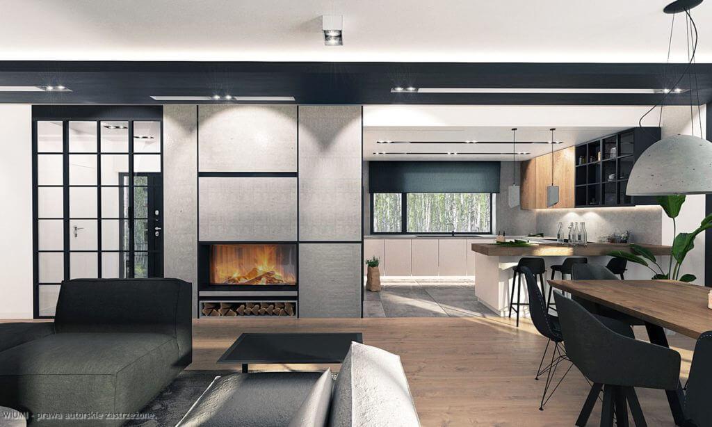 projektant wnętrz - dom w radomsku