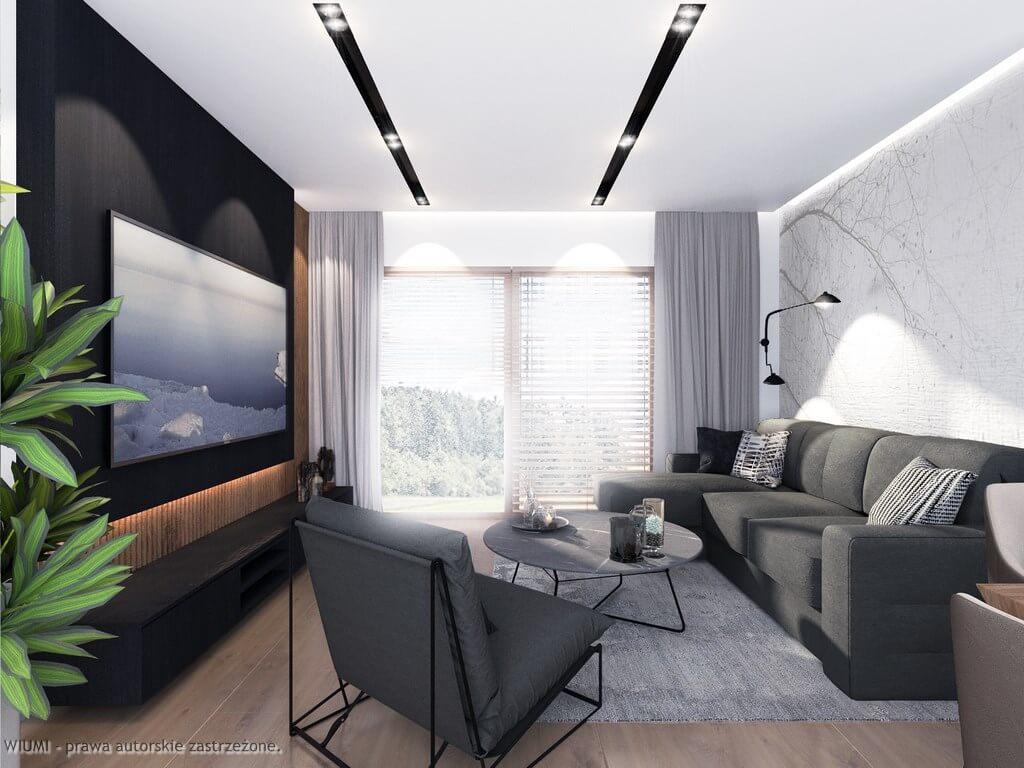 projektowanie wnętrz - dom w rukoli
