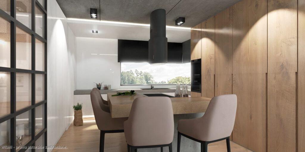 projektowanie wnętrz - dom wyjądkowy