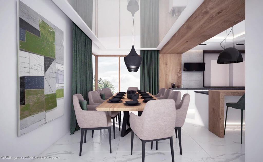 projektowanie wnętrz - dom z widokiem